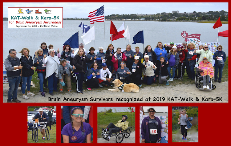 2019 KAT-Walk and Karo-5K for Brain Aneurysm Awareness
