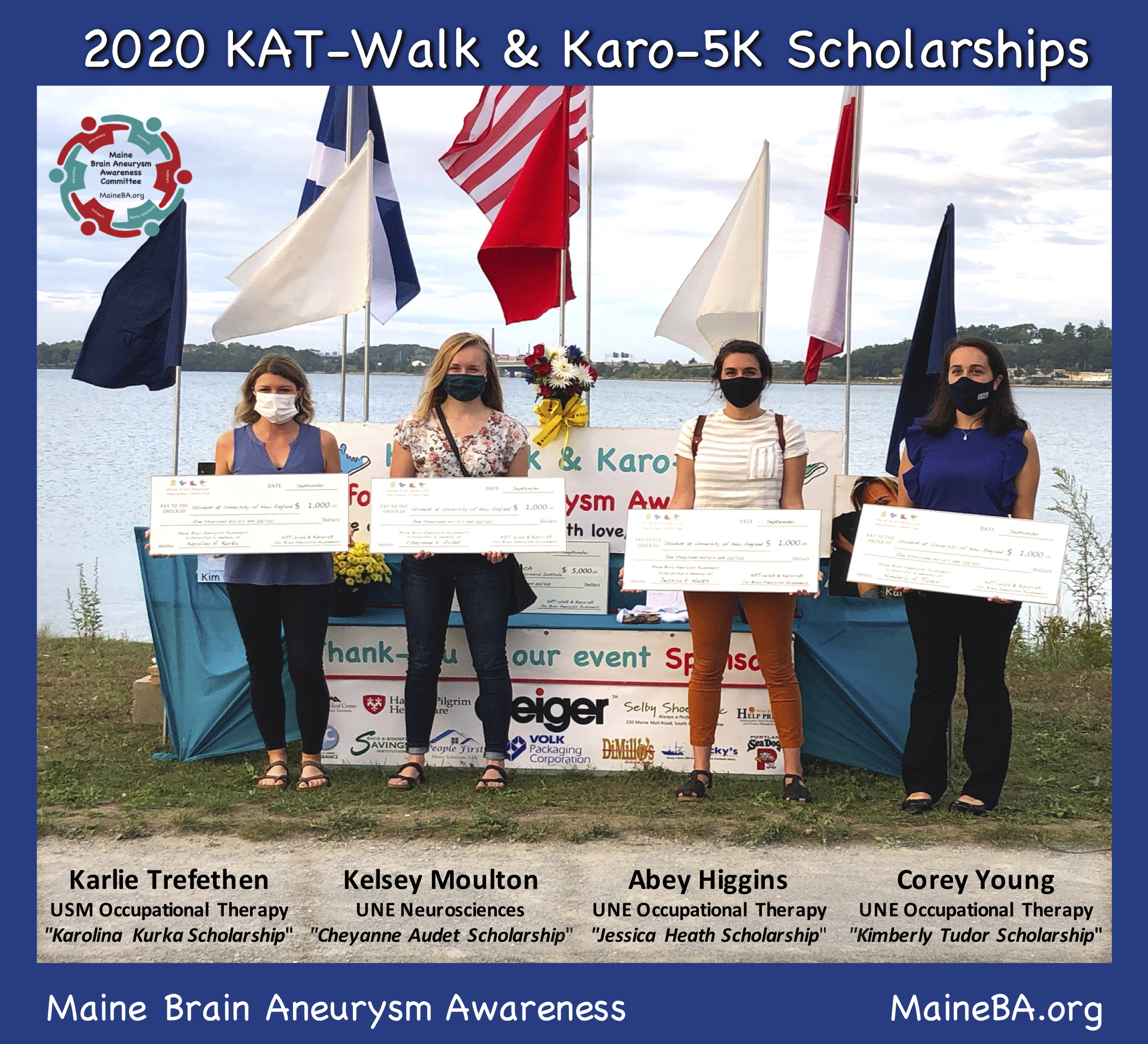 2020 Katwalk and karo-5k scholarship winners