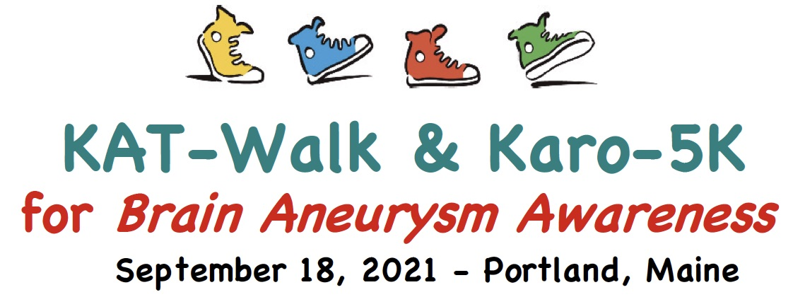 2021 KAT-Walk & Karo-5k for Brain Aneurysm Awareness