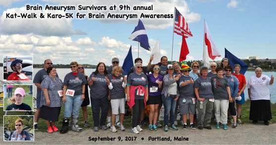 2017 KAT-Walk and Karo-5K for Brain Aneurysm Awareness