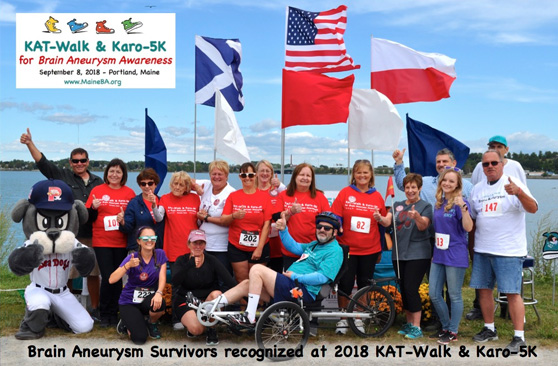 2018 KAT-Walk and Karo-5K for Brain Aneurysm Awareness